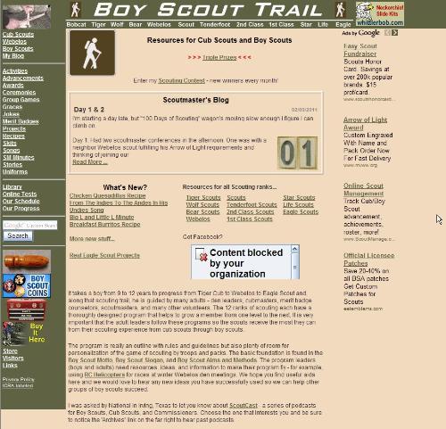 Boy Scout trail Thumbnail