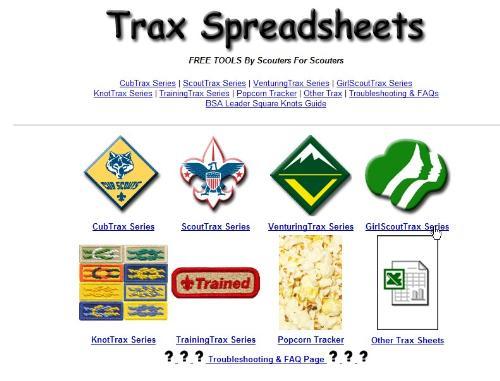 Trax Spreadsheets thumbnail